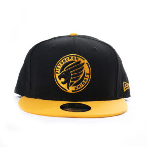 Pittsburgh-Knights-New Era-9FIFTY-Emblem-Snapback-Hat-Front