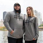 Models wearing Knights Logotype Hoodie
