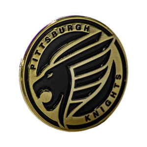 Pittsburgh Knights Pin Front