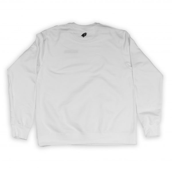 Pittsburgh Knights Embroidered Crewneck White Back