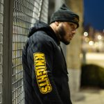 Pittsburgh Knights Essential Hoodie Side Model