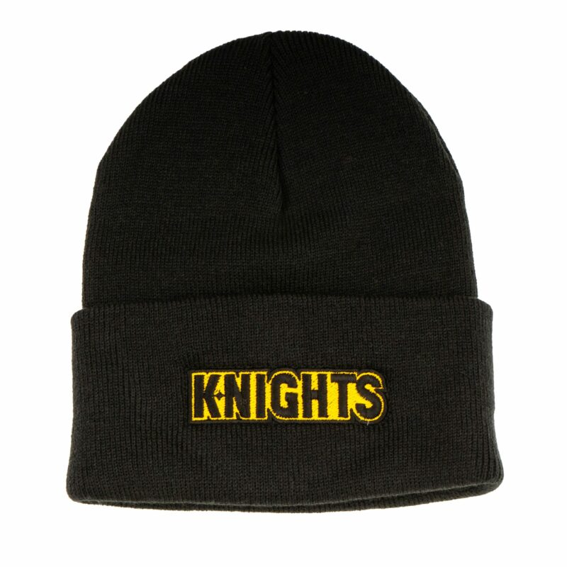 Pittsburgh Knights Logotype Beanie Front