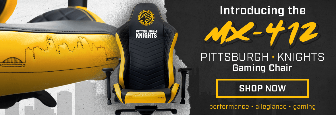 Pittsburgh Knights Gaming Chair