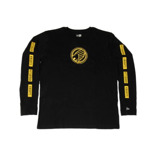 Pittsburgh Knights New-Era-Brushed Jersey LS T-Shirt