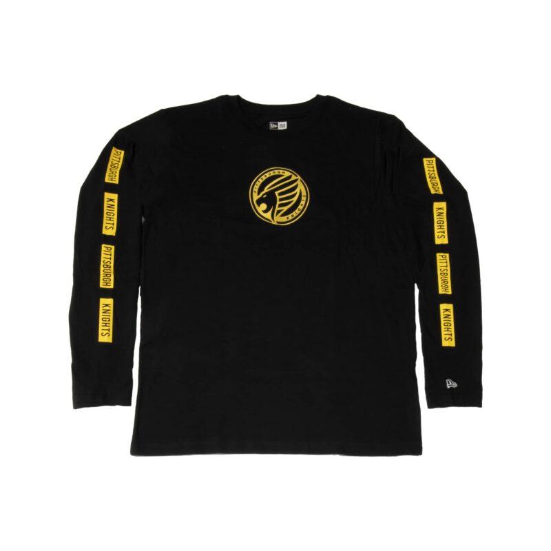 Pittsburgh Knights New-Era-Brushed Jersey LS T-Shirt