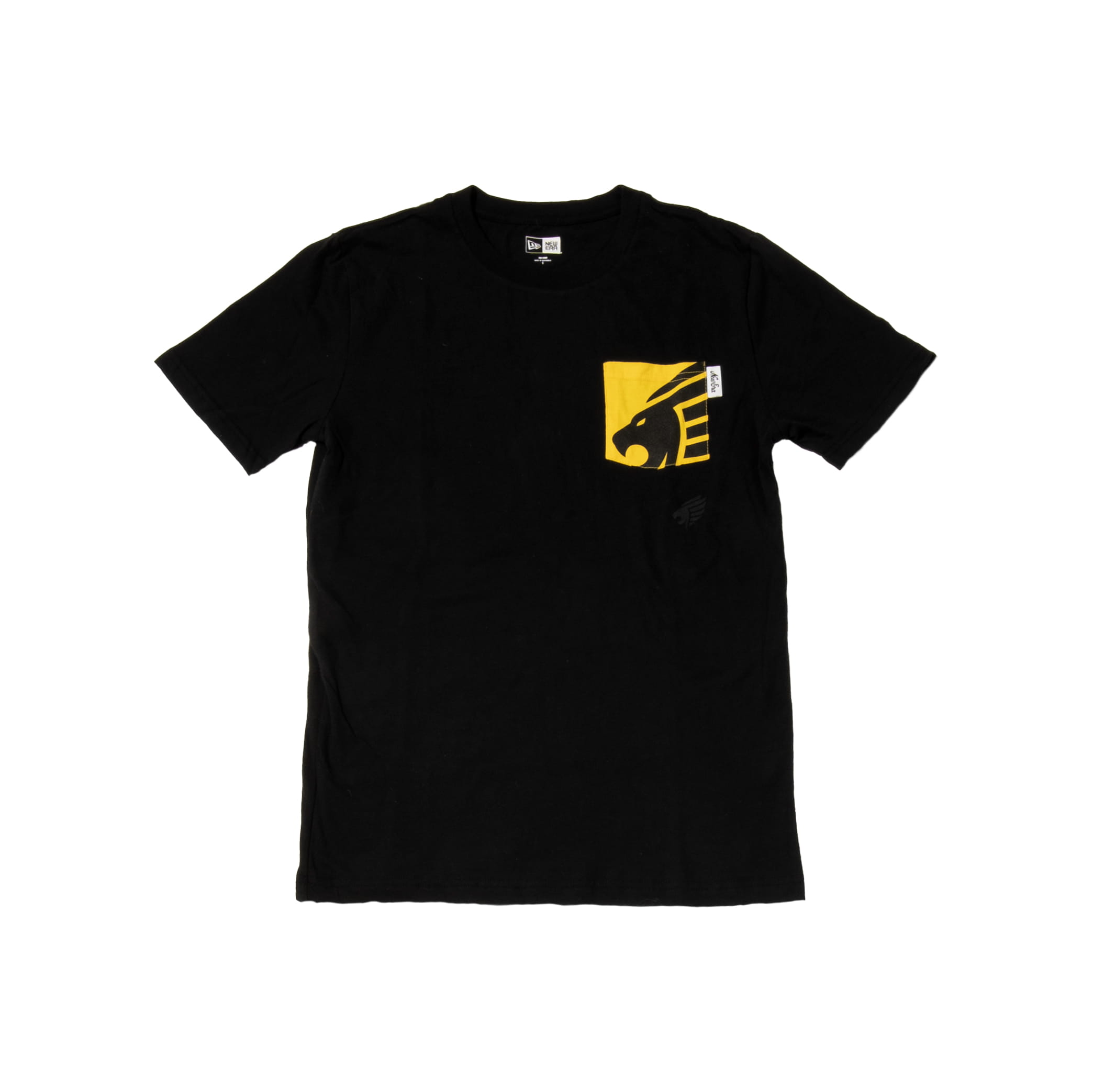 Pittsburgh Knights New Era Brushed Jersey Pocket T-Shirt