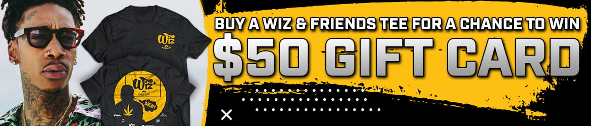 Wiz and Friends Gift Card Banner
