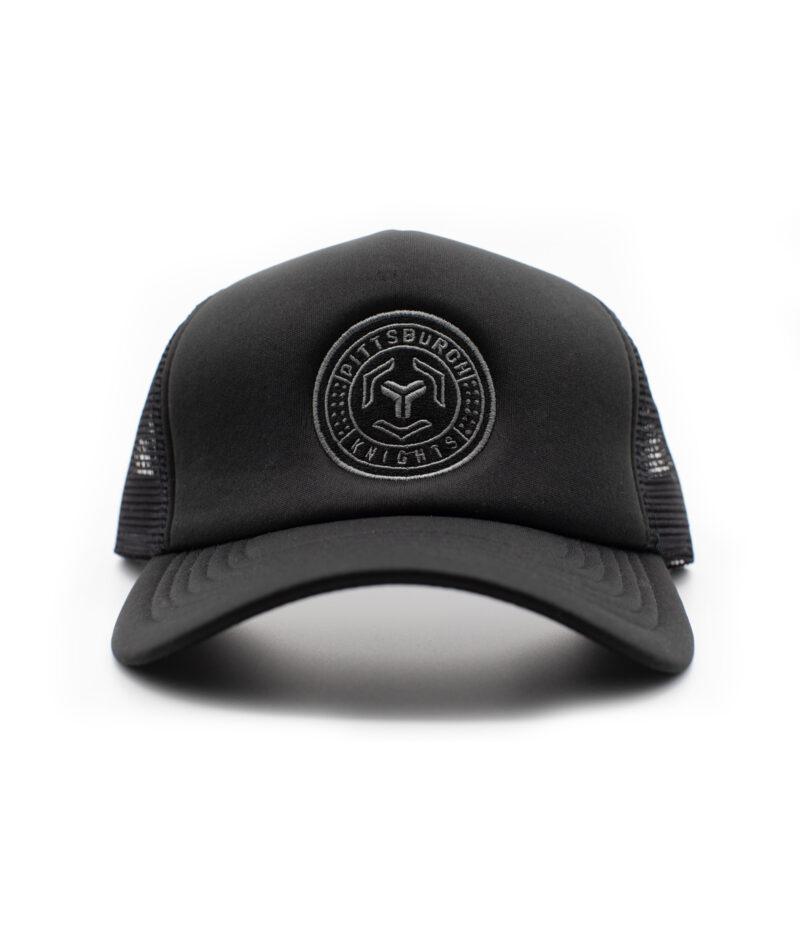 Knights Crosshairs Chainmail Trucker Hat