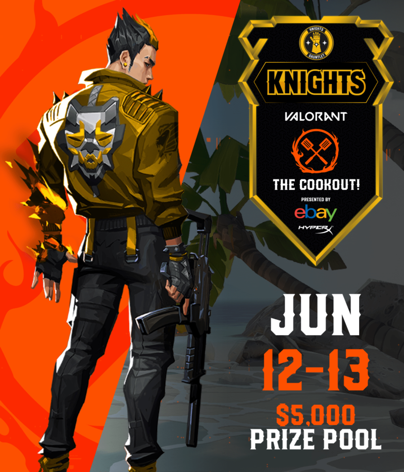 KnightsGauntlet - The COOKOUT!