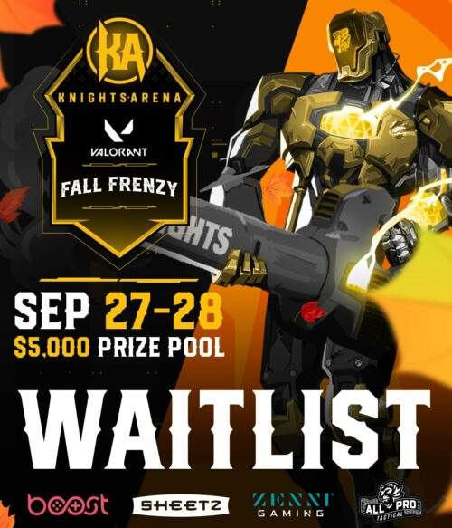 Knights Arena Fall Frenzy